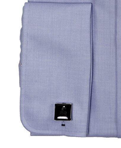 JACQUES BRITT Herren Hemd Langarm mit Manschettenknöpfen Custom Fit Brown Label 233402-015 Größen: 39 41 42