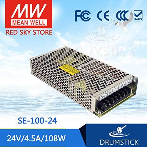 Only 11.11 24V 4.5A SE-100 24V 108W Single Output Switching Power Supply Utini SE-100-24 2Pcs