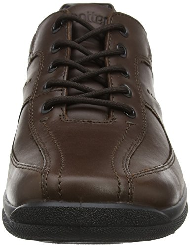 Hotter Chaussures à Lance Dk Brown Lacets Brown Hotter Lance Homme tpCqdww