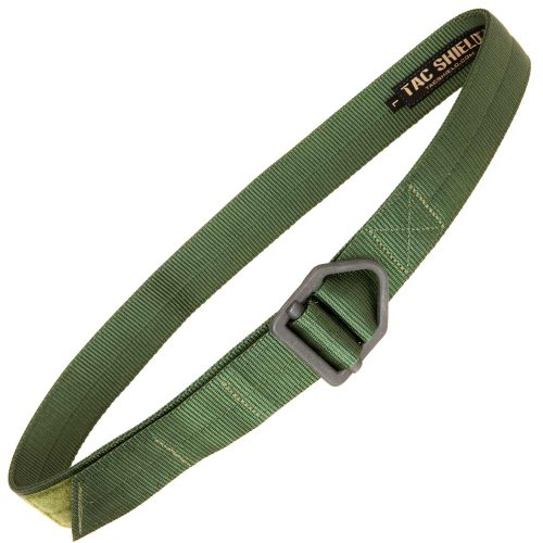 Marine Corps Belt - Tac Shield Tactical Rigger Belt, Medium, OD Green