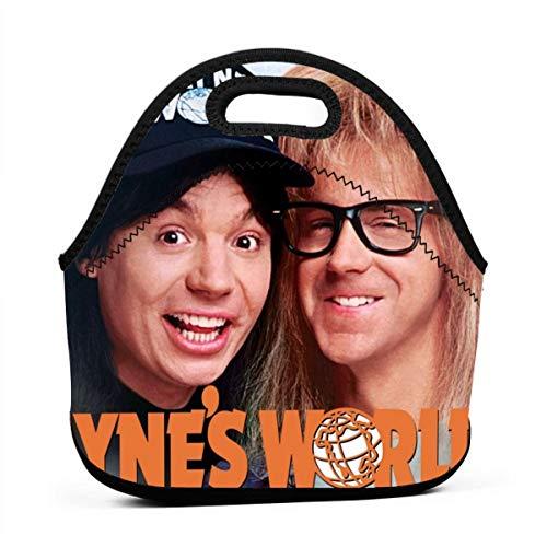 Høyer-Enevoldsen Wayne's World 2 Portable Lunch Bag Picnic Outdoor Travel Trend Handbag Pouch For Women Men Kids Girls