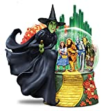 WIZARD OF OZ WICKED WITCH OF THE WEST Musical Glitter Globe Lights Up by The Bradford Exchange