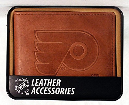 NHL Embossed Billfold Wallet NHL Team: Philadelphia Flyers ()