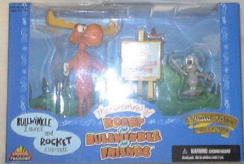Boxed Set Exclusive (Rocky & Bullwinkle & Friends BULLWINKLE and ROCKET BOXED SET by Exclusive Premiere)