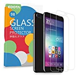iPhone 7 Plus 6S Plus 6 Plus Screen Protector, Edota 2-Pack 0.3mm Ultrathin Tempered Glass Premium High Definition (HD) / 9H Hardness / Explosion Proof Front Screen Protector Scratch Proof / Anti-Fingerprint Screen for Apple iPhone 7 Plus / 6S Plus / 6 Plus