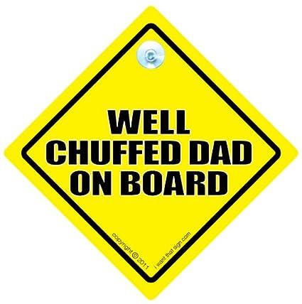 Señal de coche Papá alegre a bordo, Papá alegre a bordo ...