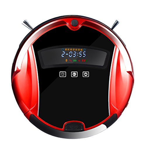 uum Cleaner Smart Household/Office Vacuum Cleaner and Floor Mopping Robot (MINSUTR-2015A Red) ()
