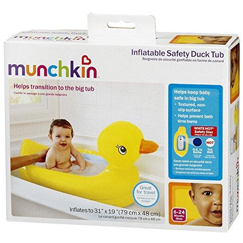 Munchkin White Hot Inflatable Duck