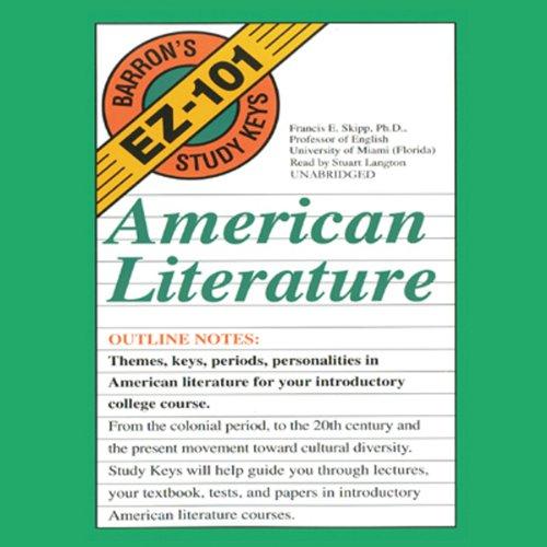 Barron's EZ-101 Study Keys: English Literature by Blackstone Audio, Inc.