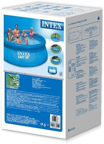 Intex 56932 - Piscina Easy Set con depuradora, 366 x 91 cm: Amazon ...