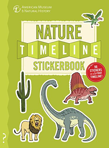 The Nature Timeline Stickerbook: From bacteria to humanity: the story of life on Earth in one epic - In Store Chicago Fossil