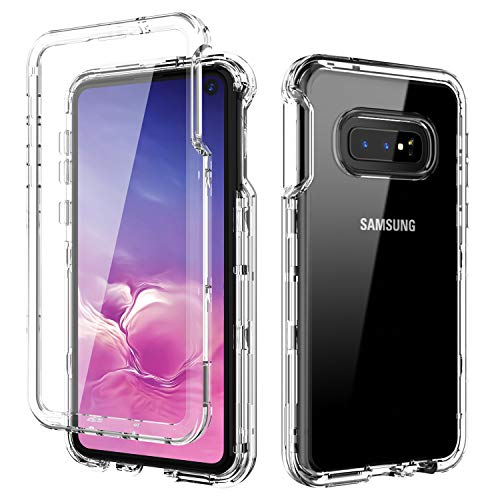 samsung galaxy s10e clear case with screen protector