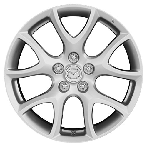 "Mazda Full Set - Genuine Mazdaspeed3 OEM Silver Alloy Rims - 18"" - Mazdaspeed3 (2010/2011/2012/2013)"