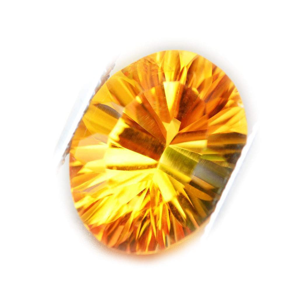 Lovemom 5.53ct Natural Oval Unheated Yellow Citrine Brazil #R