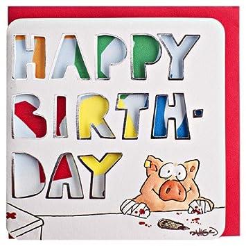 Funny Birthday Card Self Made