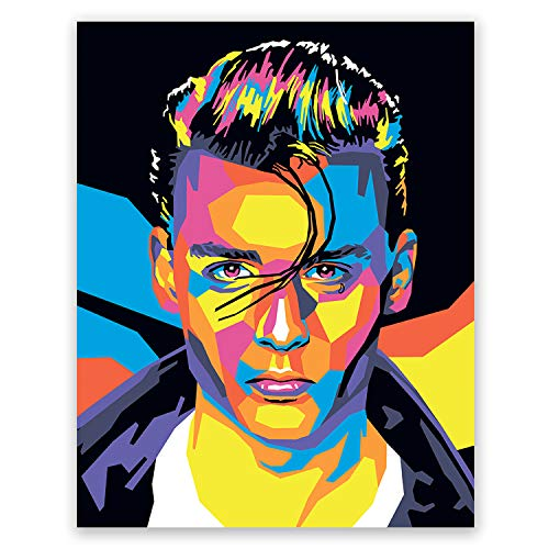 (Johnny Depp Poster - Cry Baby Art Print - Movie Portrait - Pop Art Home Wall Decor (11x14) )