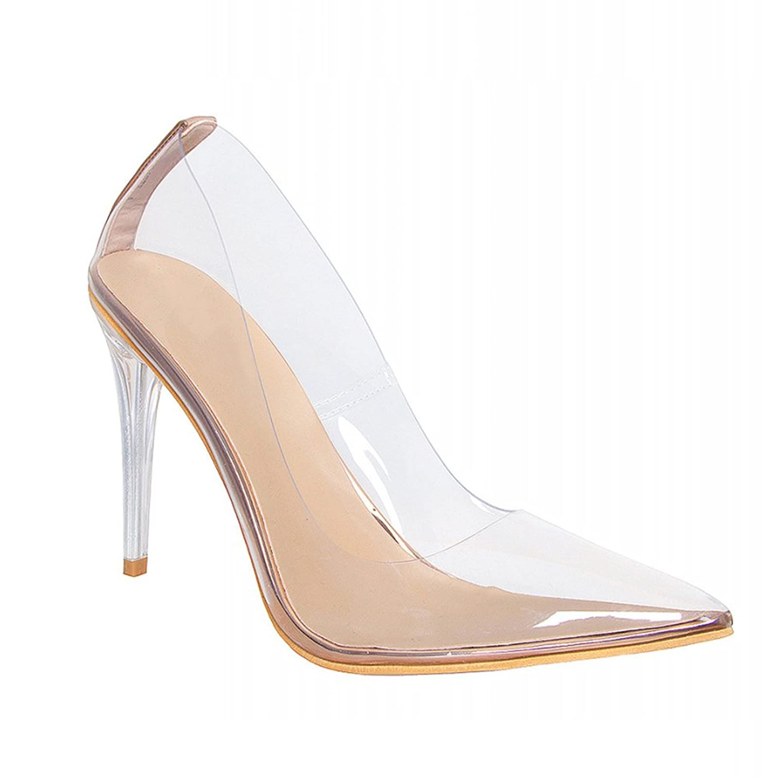 e40aa10b16 ... Hell&Heel Clear Stiletto Court Shoes PSP01 - 9