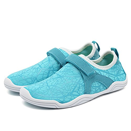 10bf1e5d Fantiny Boys & Girls Water Shoes Lightweight Comfort Sole Easy Walking  Athletic Slip on Aqua Sock