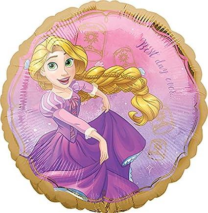 Amazon.com: Globos de tamaño estándar de Disney Rapunzel ...