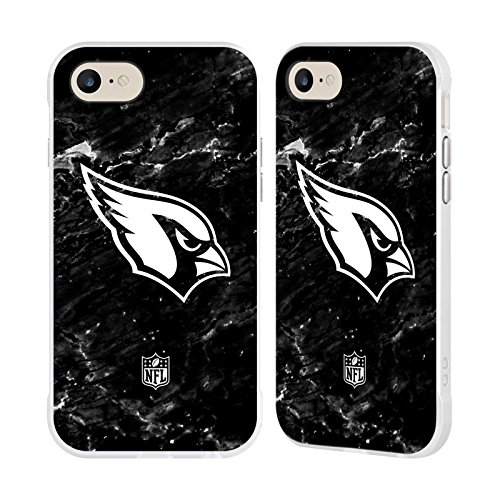 Official NFL Marble 2017/18 Arizona Cardinals White Fender Case for Apple iPhone 7 / iPhone ()