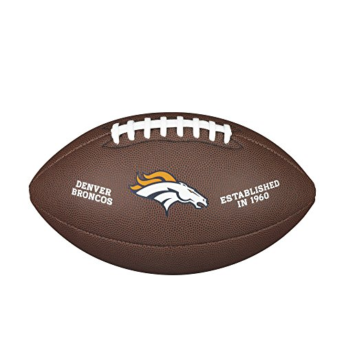 (NFL Team Logo Composite Football, Official - Denver Broncos)