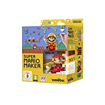 Super Mario Maker & Mario Amiibo Collector Bundle [Nintendo Wii U, PAL EU UK]