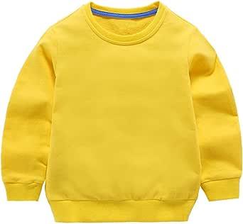Taigood Bebé Niños Niñas Tops Algodón Sudadera Linda Ropa de Jersey Camiseta Otoño Invierno 1-7 años