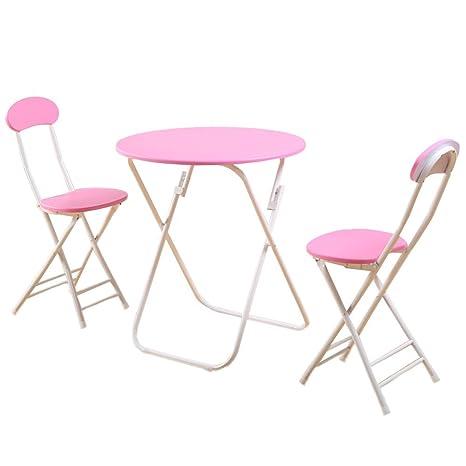 Home.table XZG Mesas y sillas Plegables Combinación de 3 ...