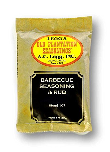 A.C. Legg - Barbecue Seasoning and Rub - 8 Ounce