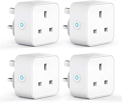 Smart WiFi Plug Sockets Outlet Switch APP Control for Amazon Alexa Google Home