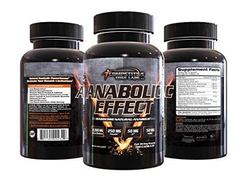 Anabolic Effect - Hardcore Natural Anabolic Supplement - Decimate Your Genetic Limitations
