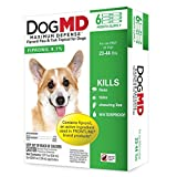 Dog MD Max Defense Flea & Tick Topical for Dogs (23-44 lbs) – 6 Month Supply