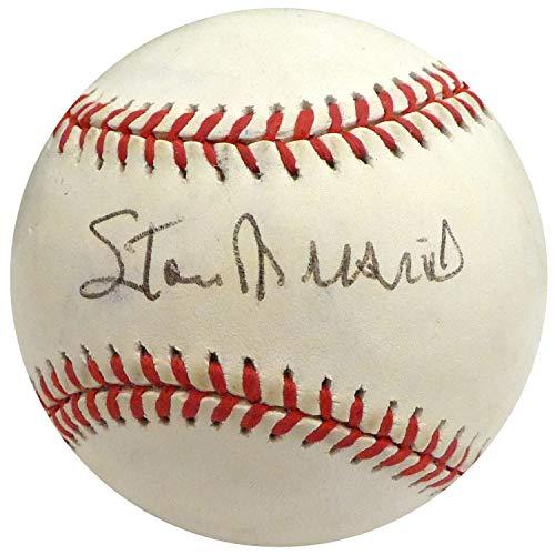 Stan Musial Autographed Signed Memorabilia MLB Baseball St. Louis Cardinals Beckett H75313