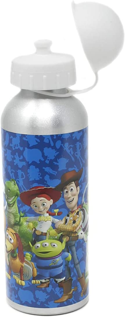 Toy Story - Botella de bebidas (aluminio, 500 ml), color azul