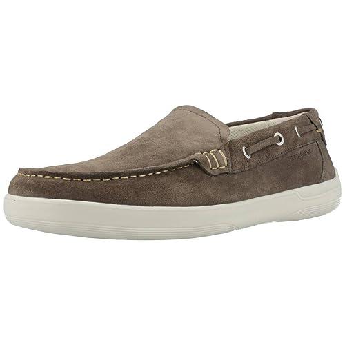 Mocasines para hombre, color gris , marca STONEFLY, modelo Mocasines Para Hombre STONEFLY OCEAN 4 Gris: Amazon.es: Zapatos y complementos