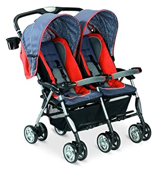 Amazon.com : Combi Twin Sport DX Stroller, Sunset Scribble ...