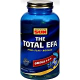 2Pack! Health From the Sun The Total EFA Omega 3-6-9 - 180 Softgels