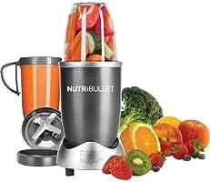 Nutribullet Procesador de Alimentos Serie 600 8 pzas Gris