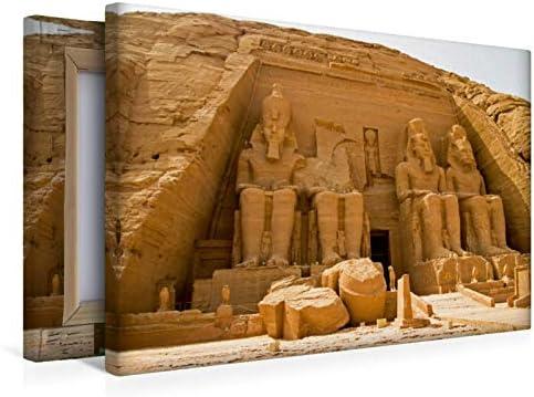 CALVENDO Lienzo de 45 cm x 30 cm Horizontal, diseño de Egipto con ...