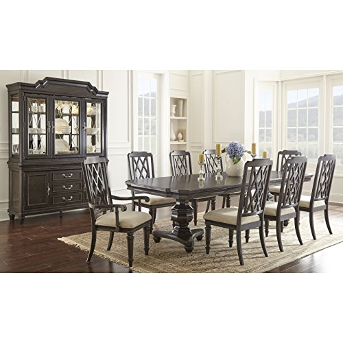 Dining Room Walnut Hutch (Greyson Living Vanderbilt Dining Set by 10-Piece Sets)