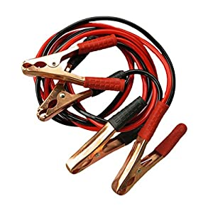 Evelots Heavy Duty Jumper Cables With A Case, 7 Feet Long, Jumpers For Cars