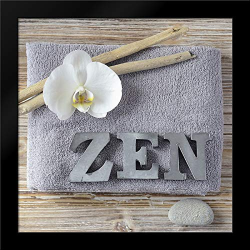 Zen Orchid 20x20 Framed Art Print by Chatelain, Sonia