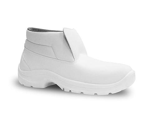 0501/1C - Botas de trabajo, color blanco, talla 35 EU