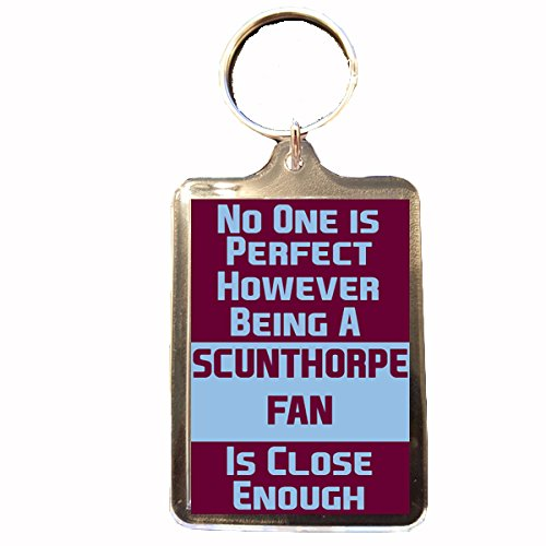 fan products of Scunthorpe United F.C - No One is Perfect Keyring