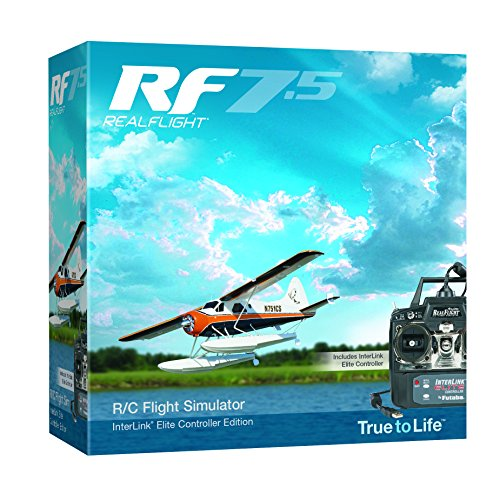Great Planes RealFlight 7.5 RC Flight Simulator with Interlink Elite Controller