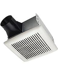 Broan AE50 Invent Energy Star Qualified Single-Speed Ventilation Fan, 50 CFM 0.5 Sones