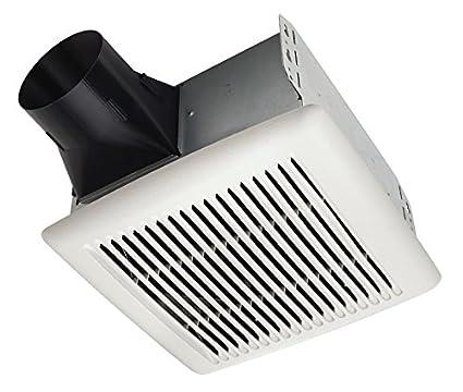 broan a80 invent single speed ventilation fan 80 cfm 2 0 sones rh amazon com