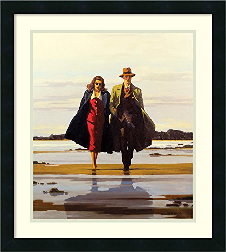 (Framed Wall Art Print | Home Wall Decor Art Prints | The Road to Nowhere by Jack Vettriano | Modern Contemporary Decor)