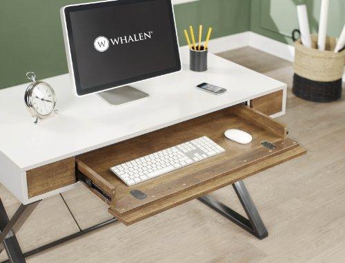contemporary computer table  Amazon.com: Whalen JCS30203-2AD Samford Contemporary Computer Desk ...