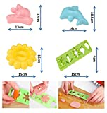 japanese bread mold - Excelity®Lunch Box Sushi Rice Press Cutter Mold Cute Rabbit & Dolphin & Flower & Vegetable